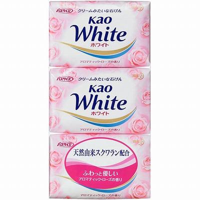 花王ホワイト アロマティックローズの香り 3個パック
