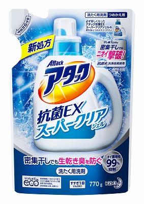 アタック抗菌EX スーパークリアジェル 詰替用