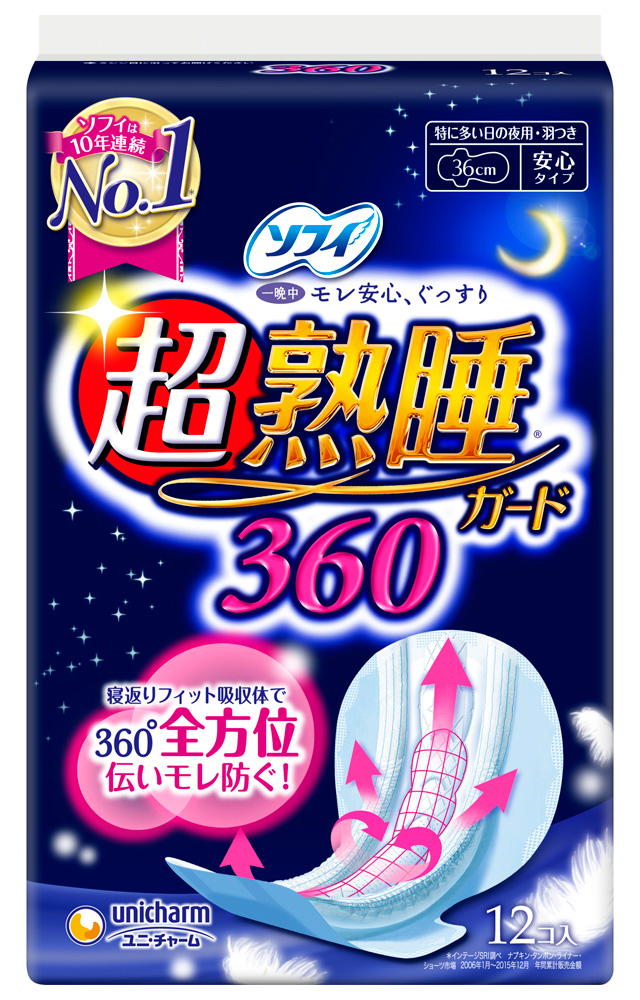 ソフィ超熟睡ガ-ド360