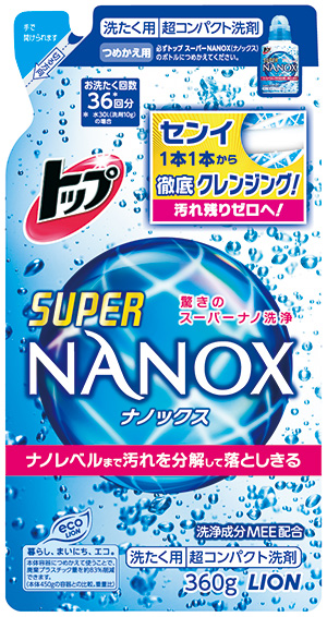 トップ スーパーNANOX 詰替用