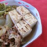白菜と豆腐と肉の旨煮