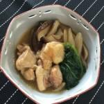 鶏肉とほうれん草の治部煮