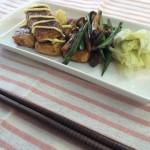 豆腐の照り焼きマヨ