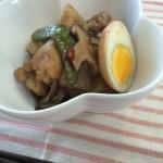 鶏と卵の煮物