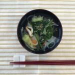 たっぷり野菜の糸コンニャクスープ